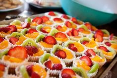 Fruit party treats to make ahead for children's parties or picnics
