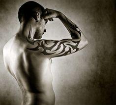 Tribal arm tattoo by ~anderton on deviantART