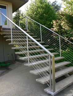 Ultra-tec Stair Cable Railing http://thecableconnection.com/ultra-tec.html