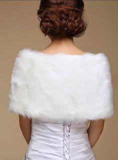 Bridal Wraps Warm Faux Fur dresses define aesthetically pleasing face   Japanese street fashion japanese fashion magazine japan store korean style chinese fashion trendy