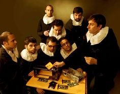 """""""The Anatomy Lesson of Dr. Nicolaes Tulp"""" remake by Bruna Pelissari, after Rembrant"""