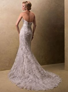 """Judith by Maggie Sottero. This is the first wedding dress that actually made ne stop and say """"yes, that one"""""""