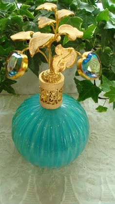 Antique Vintage Irice Murano Perfume Bottle | eBay