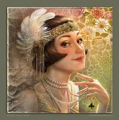 Must-See Illustrations by Tracy Butler Vintage Beauty, Vintage Art, Vintage Images, Frau Illustration, Digital Illustration, Cross Stitch Art, Cross Stitch Books, Portraits, Collage