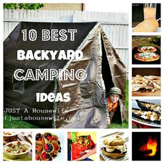 Backyard Camping - make some memories without spending a fortune:)