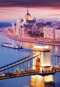 Budapest, Hungary. My favorite place I have ever been <3