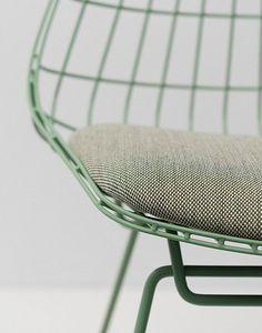 Pastoe Wire Chair SM05 in green Cees Braakman