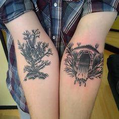 Seth Graham, Holy Ground Tattoo, Buffalo NY. @hiddendoorways on IG.