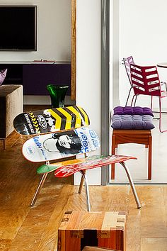 Zanini de Zanine, Skate Jr chair