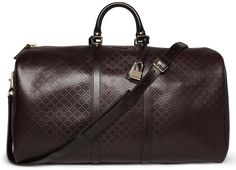 Normally I am not a fan of gaudy luxury items, however, this Gucci Holdall bag is divine in its subtle design.