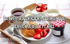 and not just because I'm pregnant and going to throw up if I don't eat before getting out of bed LOL