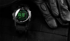Garmin Tactix GPS Watch Is Designed to Meet the Needs of Law Enforcement - The tactix watch is waterproof to 50 m and is designed to run for up to 50 hours in GPS mode on a single charge. The watch also is preloaded with tide data in the US and has Jumpmaster software designed to help in amphibious and airborne operations. | Geeky Gadgets