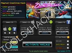 Asphalt OverDrive  Hack - 27.06.2014 Updated