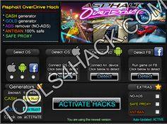 Asphalt OverDrive  Hack - 27.06.2014 Updated