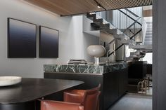 """""""The Glass House x Nina Maya Interiors"""" Australian Interior Design, Interior Design Awards, Granite Colors, Green Marble, Glass House, House Goals, Commercial Interiors, Contemporary Design, Architecture"""