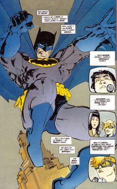 The Dark Knight Returns.  best Batman comic ever.