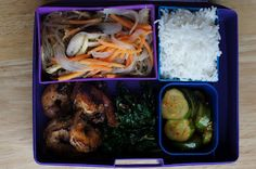 Eating in a box: Korean Bento 2