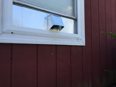 The fresh air intake window vent by Vent Works was designed to provide the perfect solution for those that need fresh air from outside and don't want to. Window Vents, Window Inserts, Ps, Garage Doors, Windows, Outdoor Decor, Room, Design, Ramen
