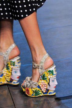 Dolce & Gabbana, Milan, Spring 2014.