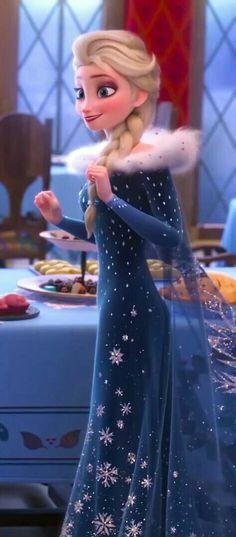 Frozen Elsa is more beautiful Princesa Disney Frozen, Disney Frozen Elsa, Olaf Frozen, Elsa Olaf, Disney Pixar, Disney Animation, Disney Princess Drawings, Disney Princess Pictures, Cold Heart