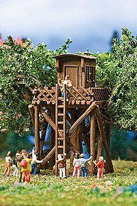 Tree house N Scale