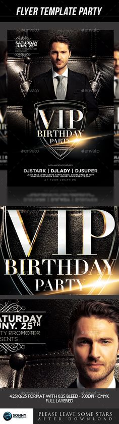 Birthday Flyer Font logo, Fonts and Logos - birthday flyer template