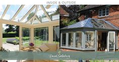 An Edwardian conservatory is a beautiful & natural extension of the original living space.