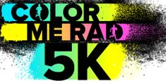 Color Me Rad 5K and a {GIVEAWAY}