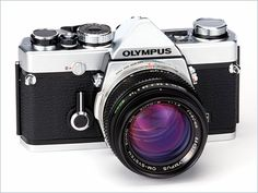 The Olympus OM-1N...I bought this camera with a couple lenses and flash from some guy in Southwick. It was my first film SLR and it's awesome!