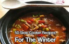 50 slow cooker recipes for winter