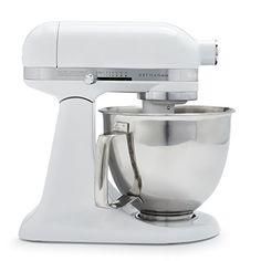 KitchenAid Artisan Mini Premium Tilt-Head Stand Mixer with Flex Edge Beater, qt, Cast Iron Black Kitchenaid Artisan, Kitchenaid Stand Mixer, Small Kitchen Appliances, Kitchen Aid Mixer, Stainless Steel Bowl, Head Stand, Pasta Maker, Specialty Appliances, Mixers