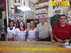 Victorica: Hildo Medero, de empleado a propietario Fashion, Pharmacy, News, Moda, Fashion Styles, Fashion Illustrations