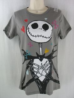 Women's Juniors Large T Jack Sally Nightmare Before Christmas $18 shipped