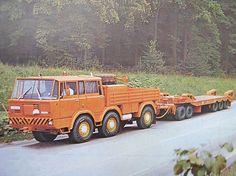 Tatra T813 TP 6x6 Transporta P-50 New Trucks, Cool Trucks, Classic Trucks, Classic Cars, Old Tractors, Busse, Trailer Hitch, Transport, Fire Engine