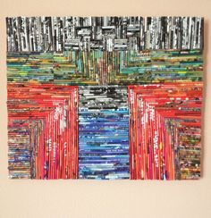 Threshold Collage on canvas by MimiBoutique on Etsy
