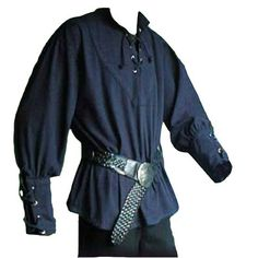 medieval male shirt - Google Search Medieval Clothing Men, Medieval Outfits, Medieval Gown, Middle Ages Clothing, Mens Tunic, Laced Up Shirt, Peignoir, Fashion Seasons, Character Outfits