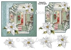 Vintage Christmas Welcome - £0.80 : Instant Card Making Downloads