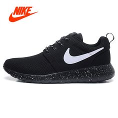 best loved d05f8 9dc6e Nike Roshe Run attention Womens Running Shoes Outdoor Sports Sneakers women  spring summer Breathable Official Original