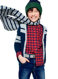 Clothes for Humans Dress Down School Collection Niños Otoño 2016 Benetton