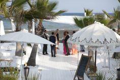 WEDDING PURO BEACH MARBELLA BODA EN PURO BEACH MARBELLA with Jenny Packham wedding dress and Jimmy Choo wedding shoes wedding on the beach