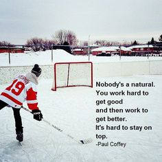 Hard work, the only way to stay on top. #motivation #hockey #hockeylife #inspire HOCKEYBOXCLUB.COM
