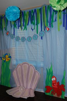 Little Mermaid Party! Background