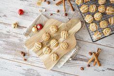 Zimtschnecken Plätzchen / Cinnamon Roll Cookies - Sallys Blog Cinnamon Roll Cookies, Cinnamon Rolls, Christmas Baking, Christmas Cookies, Shortcrust Pastry, Ground Almonds, Brown Sugar, Vanilla, Xmas