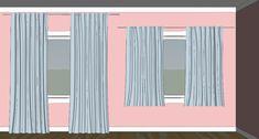 5 fordeler med ekstra lange gardiner - Innredningsguiden  tips, interiør, innredning Curtains, Home Decor, Velvet, Blinds, Decoration Home, Room Decor, Draping, Home Interior Design, Picture Window Treatments