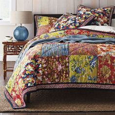 Image result for patchwork bedspreads
