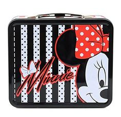 Disney Minnie Mouse Stripes & Dots Tin Lunch Box