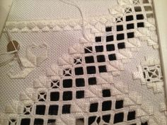 Hardanger Embroidery by Desideratist, via Flickr