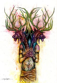 Awesome Alex Pardee Artwork Used In 'Digging Up the Marrow' (Exclusive) - Alex Pardee, The Used, Beautiful Artwork, Cool Artwork, Beautiful Things, Street Art, Sucker Punch, Dope Art, Pop Surrealism
