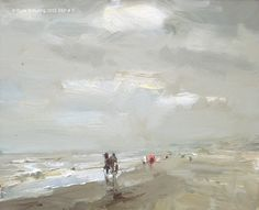 Seascape spring #4 by Roos Schuring