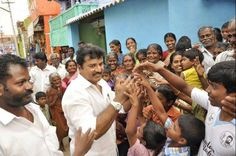 Mr. Sarath Kumar visited to Tenkasi Constituency